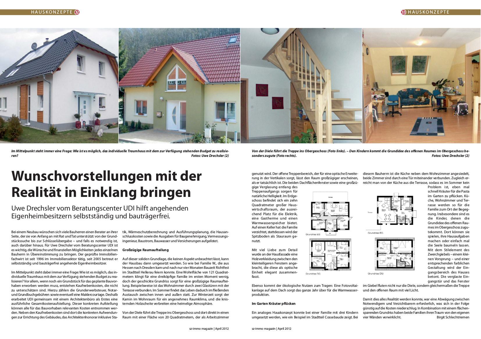 Leistungen   Uwe Drechsler Immobilien